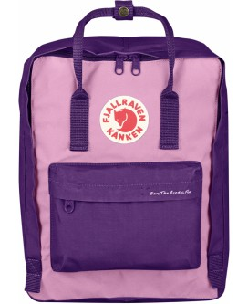 Kanken Save The Artic Fox Purple Orchid