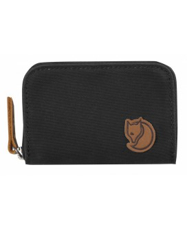 ZIP CARD HOLDER Dark grey